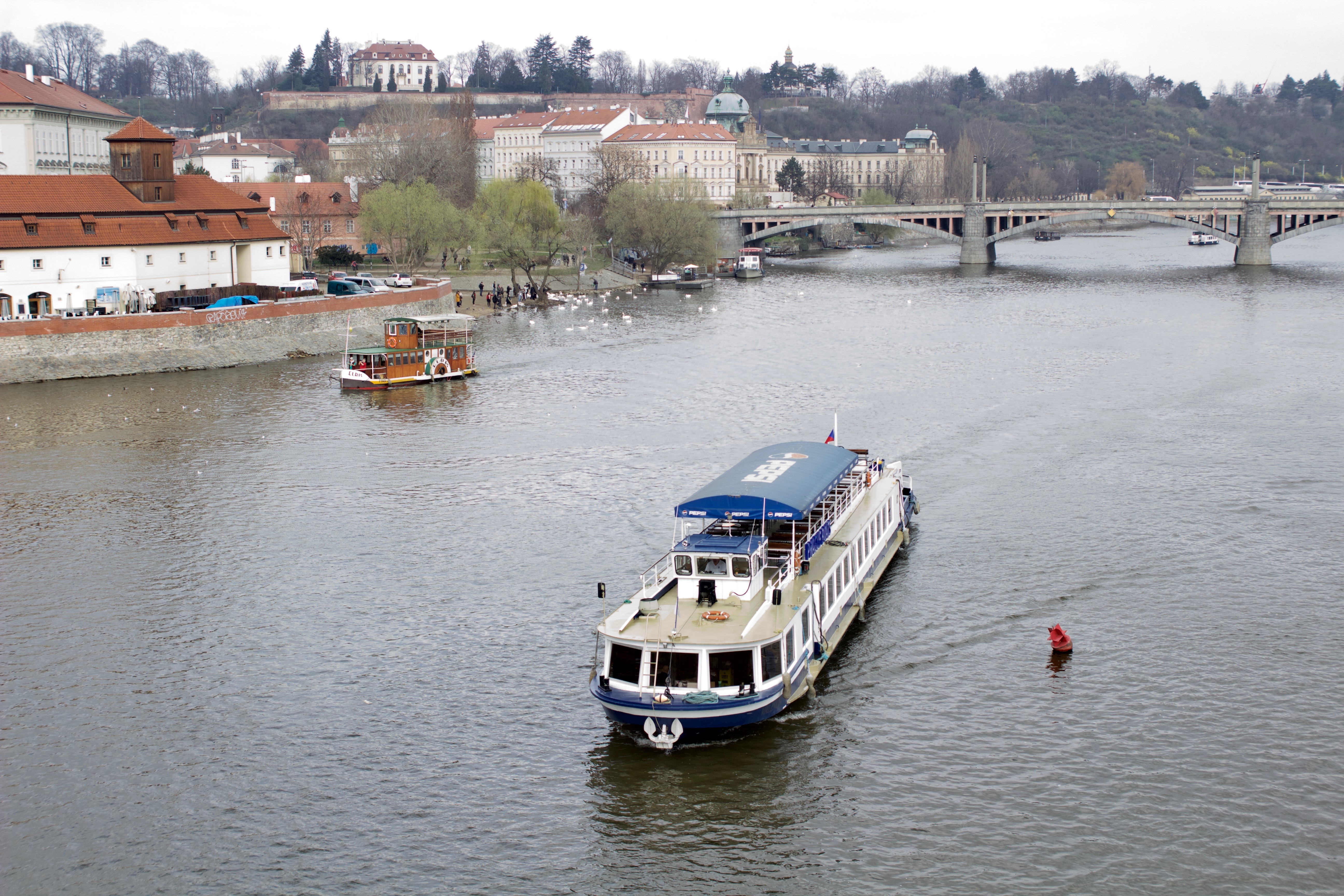 Prague river boats