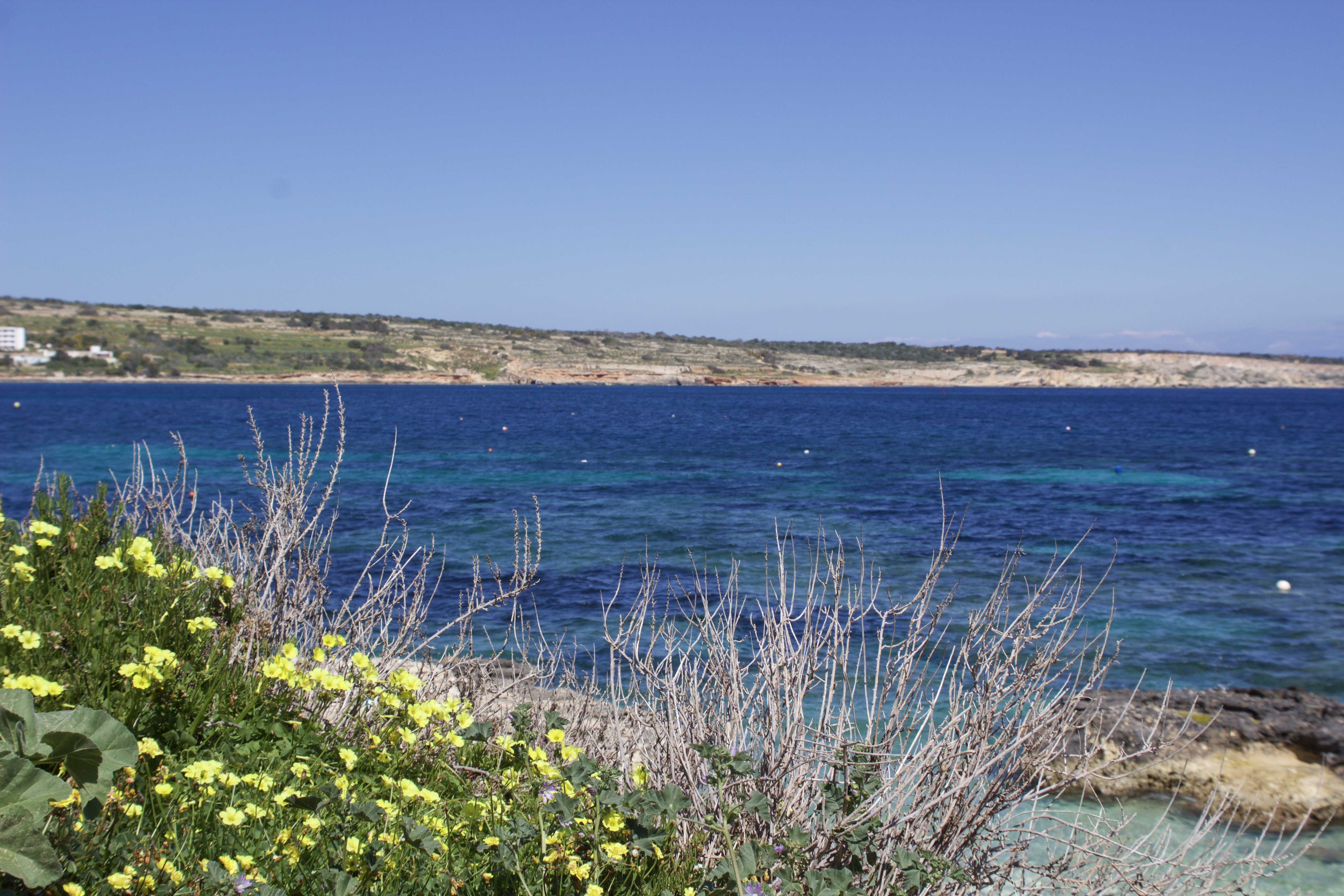 Mellieha's blue waters, Malta