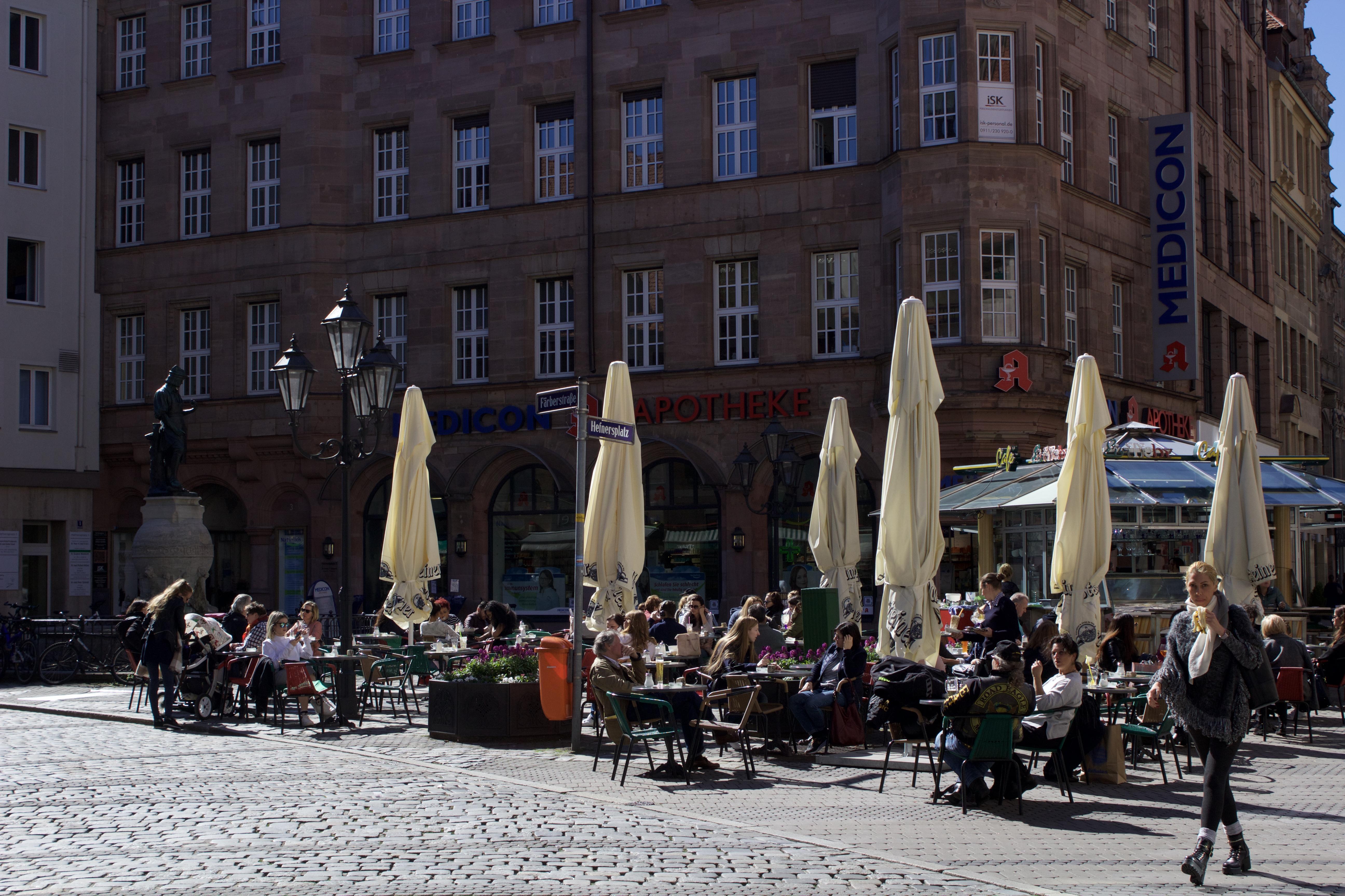 Nuremberg cafe, Germany