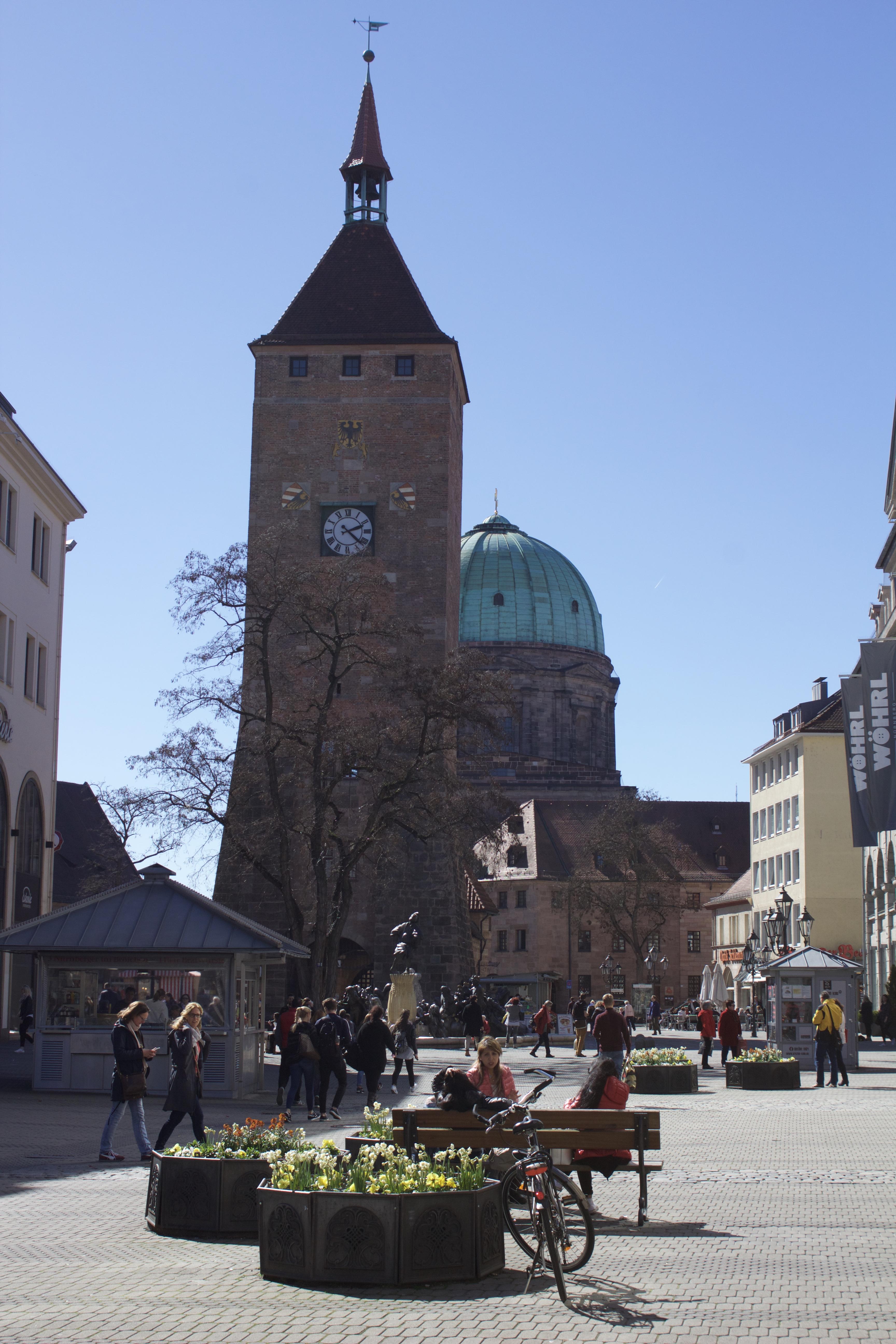 Church in Nuremberg, Germay