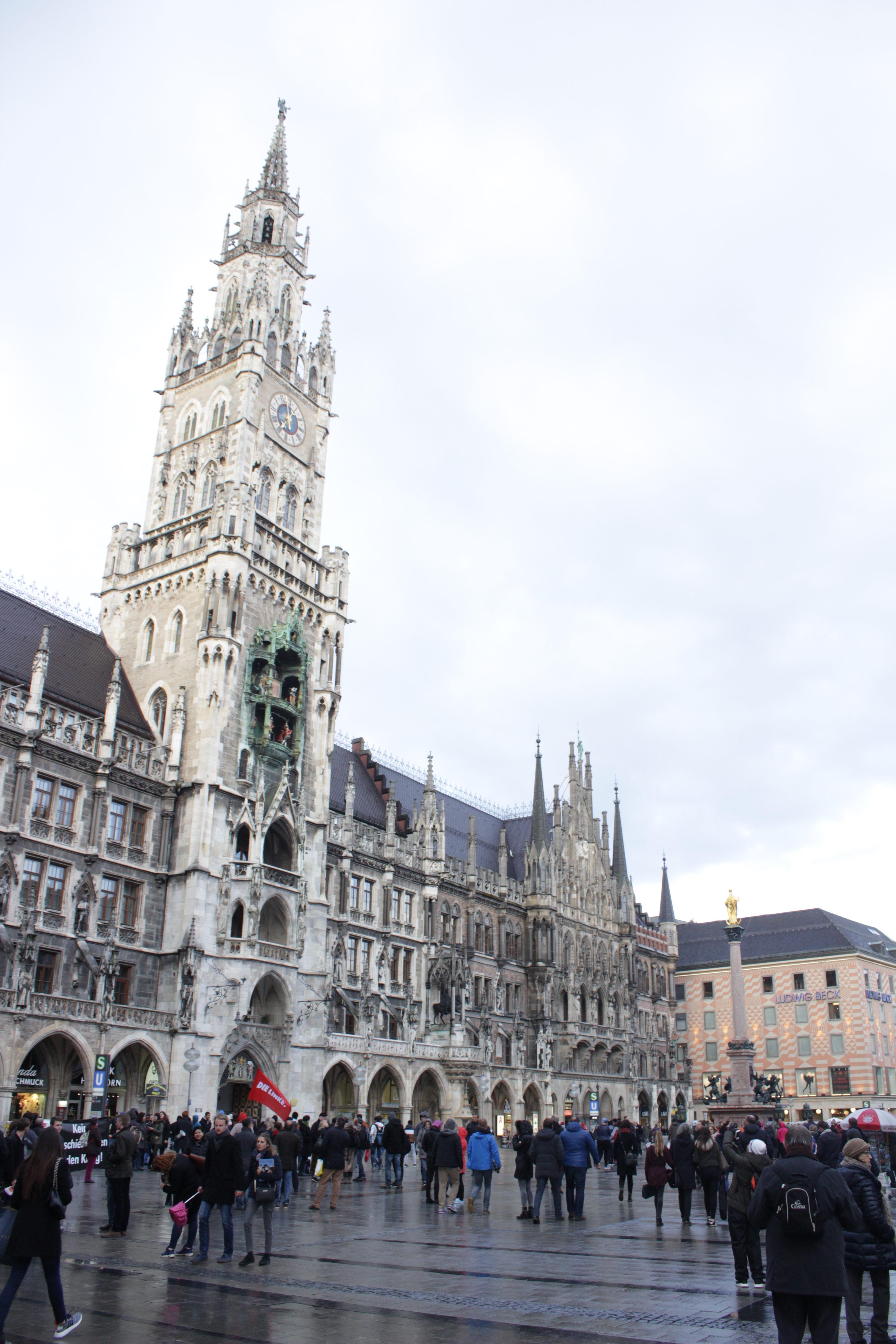 Rathaus in Marienplatz
