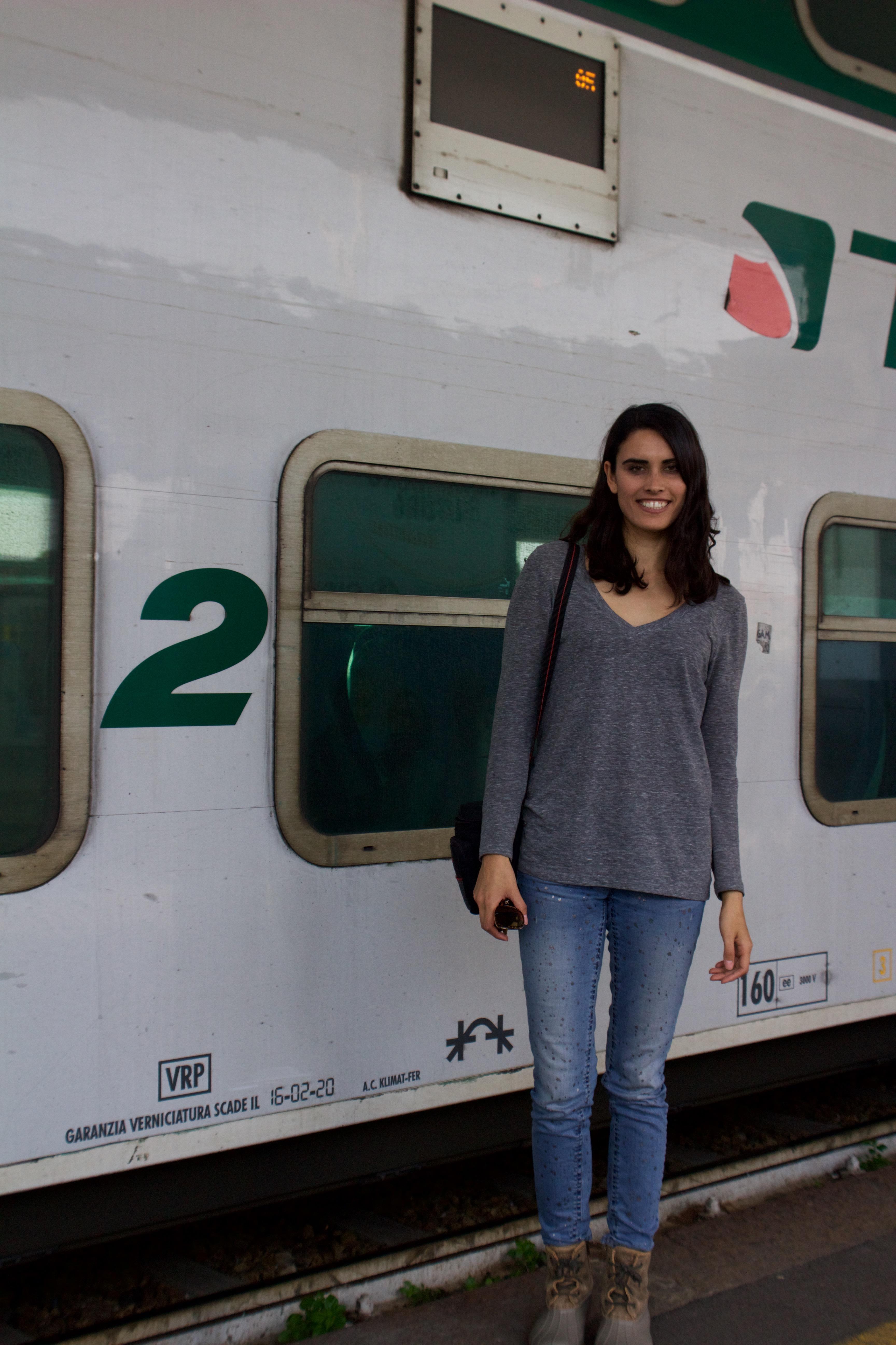 Trenitalia from Bergamo to Milano